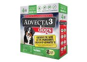 Advecta 3 Flea Drops for Dogs 11 - 20 LBS. 4ct