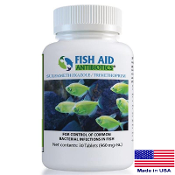 Fish Aid Antibiotics 960 mg Fish Sulfa Forte Tablets - 30 Count