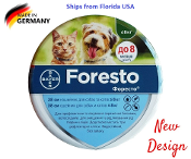 Seresto Foresto Flea & Tick Collar for Small Dogs and Cats under 18lbs